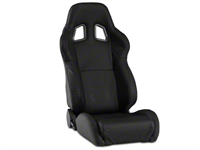 Corbeau A4 Seat - Black Leather (79-16 All)