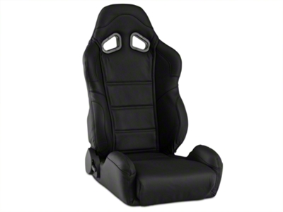 Corbeau CR1 Racing Seat - Black Leather (79-15 All)