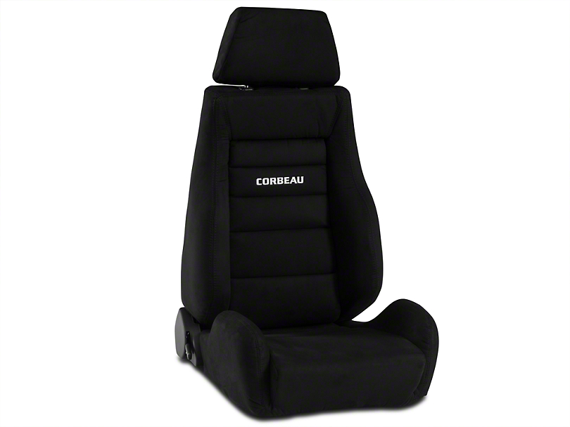 Corbeau GTS II Racing Seat - Black Microsuede (79-16 All)