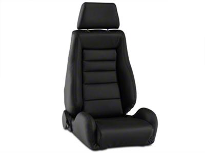 Corbeau GTS II Racing Seat - Black Leather (79-14 All)