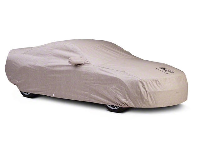 Covercraft Deluxe Custom-Fit Car Cover - 50th Anniversary Logo - Coupe (05-09 GT, V6)