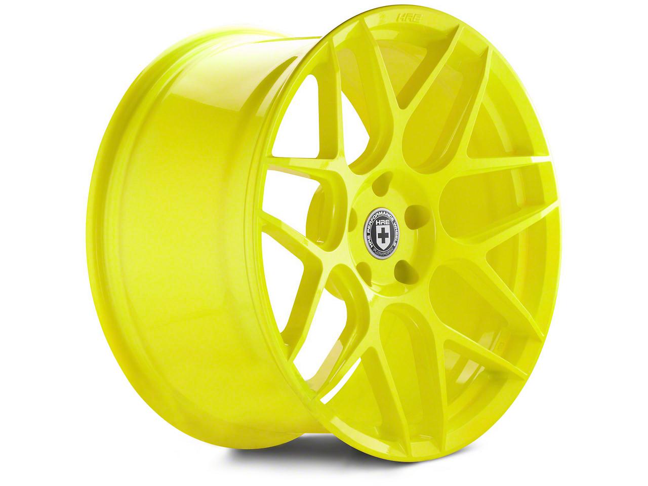 HRE Flowform FF01 Hyper Yellow Wheel - 20x10.5 (05-14 All)