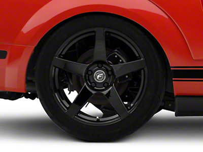Forgestar CF5 Monoblock Piano Black Wheel - 19x11 (05-14 All)