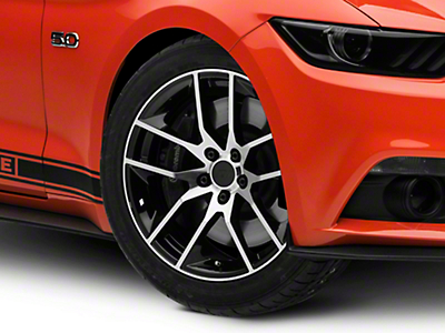 Magnetic Style Black Machined Wheel - 19x8.5 (15-16 All)