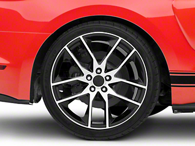 Magnetic Style Black Machined Wheel - 20x10 (15-16 All)