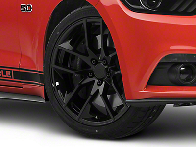 Magnetic Style Black Wheel - 20x8.5 (15-16 All)