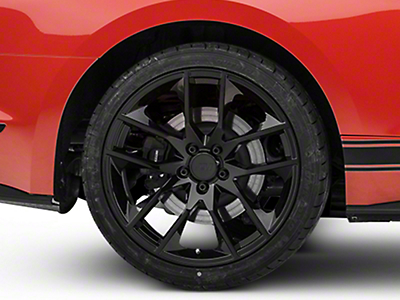 Magnetic Style Black Wheel - 20x10 (15-16 All)