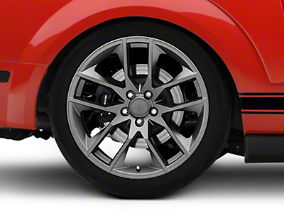 Magnetic Style Charcoal Wheel - 20x10 (05-14 All)