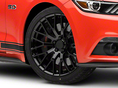 Performance Pack Style Black Wheel - 20x8.5 (15-16 All)