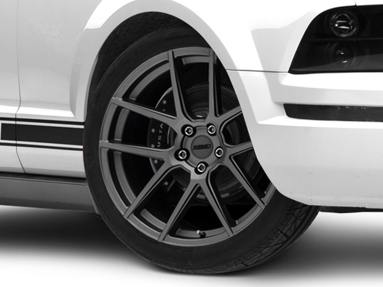MMD Zeven Charcoal Wheel - 20x8.5 (05-14 All)