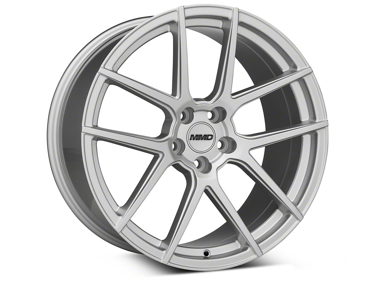 MMD Zeven Silver Wheel - 20x10 (05-14 All)