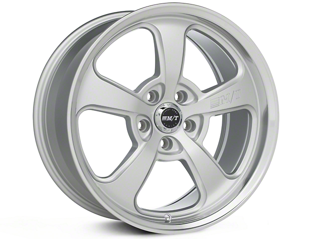 Mickey Thompson SC-5 Silver Wheel - 18x9 (05-14 GT, V6, 07-12 GT500)