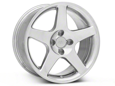 2003 Cobra Style Polished Wheel - 17x9 (87-93; Excludes 93 Cobra)