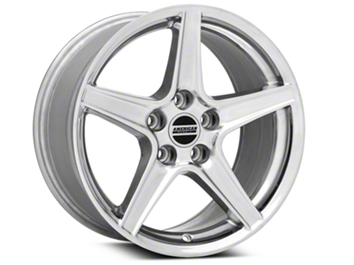 Saleen Style Polished Wheel - 17x9 (94-04 All)