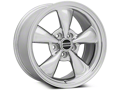 Bullitt Polished Wheel - 17x9 (05-14 V6; 05-10 GT)