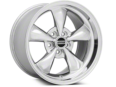 Deep Dish Bullitt Polished Wheel - 17x10.5 (94-04 All)