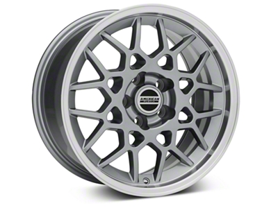 2013 GT500 Style Deep Dish Anthracite Wheel - 17x9 (05-14 V6; 05-10 GT)