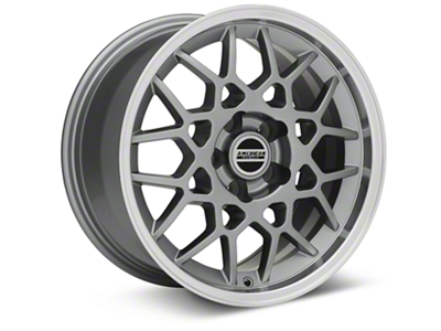 2013 GT500 Style Deep Dish Anthracite Wheel - 17x9 (94-04 All)