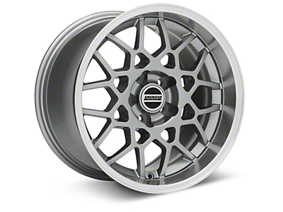 2013 GT500 Style Deep Dish Anthracite Wheel - 17x10.5 (94-04 All)