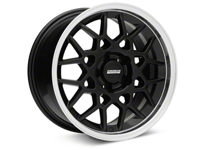 2013 GT500 Style Deep Dish Black Wheel - 17x9 (94-04 All)