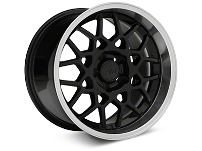 2013 GT500 Style Deep Dish Black Wheel - 17x10.5 (94-04 All)