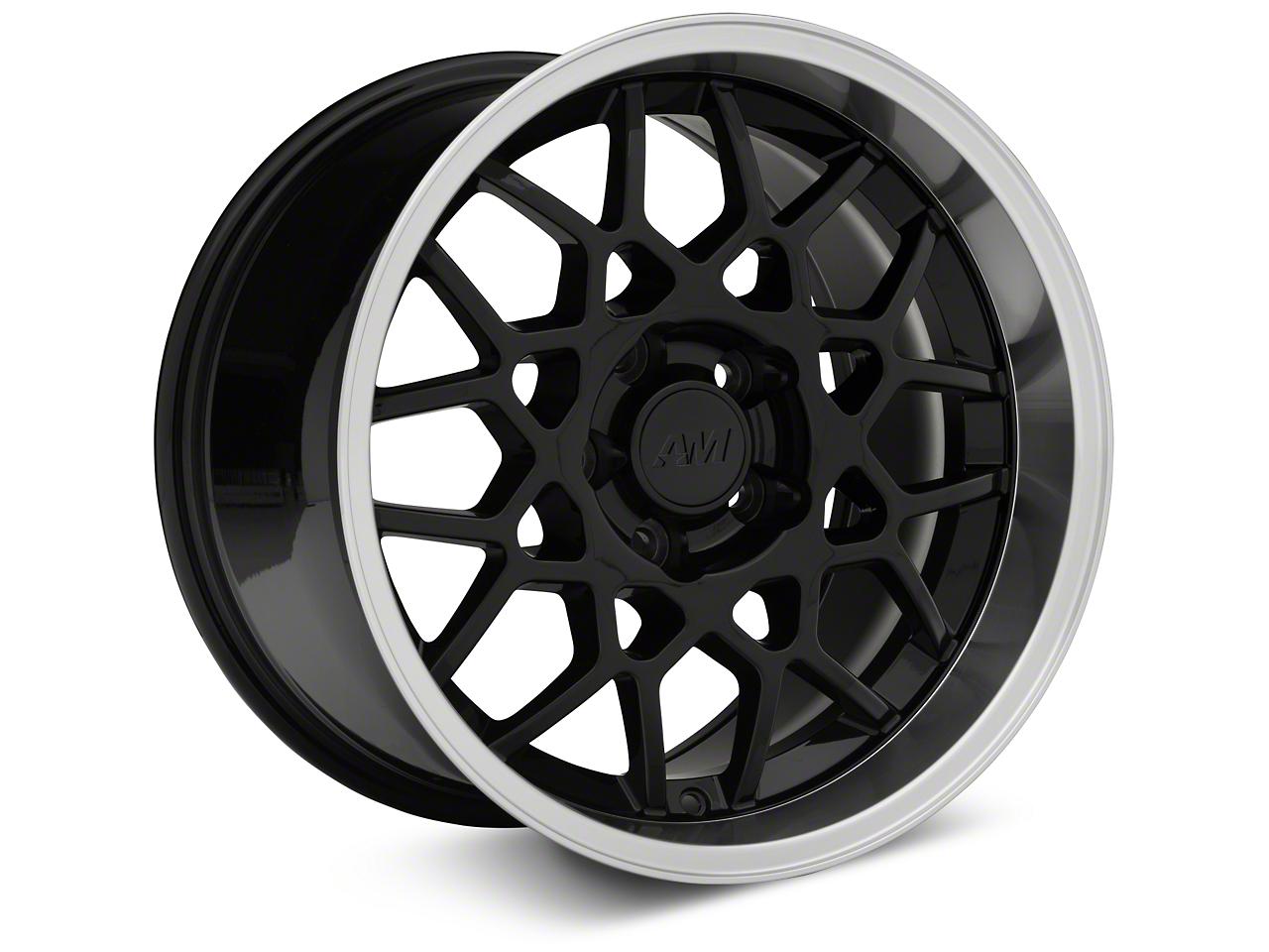 2013 GT500 Style Deep Dish Black Wheel - 17x10.5 (94-04 All)