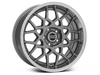 2013 GT500 Style Deep Dish Anthracite Wheel - 18x9 (05-09 GT, V6)
