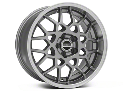 2013 GT500 Style Deep Dish Anthracite Wheel - 18x10 (94-04 All)