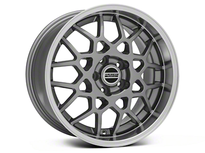 2013 GT500 Style Deep Dish Anthracite Wheel - 18x10 (05-09 GT, V6)
