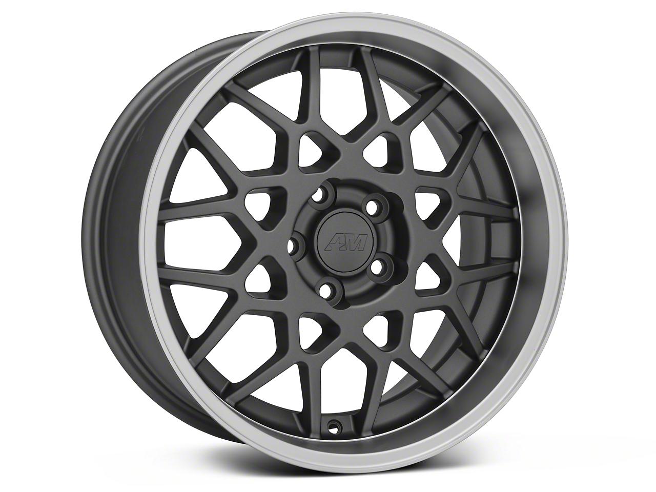 2013 GT500 Style Deep Dish Charcoal Wheel - 18x9 (05-09 GT, V6)