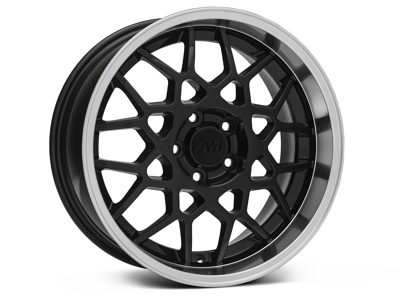 2013 GT500 Style Deep Dish Black Wheel - 18x9 (05-09 GT, V6)