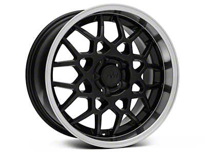 2013 GT500 Style Deep Dish Black Wheel - 18x10 (94-04 All)