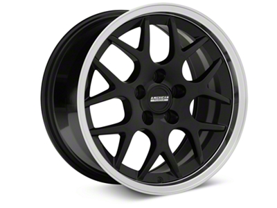 Deep Dish AMR Black Wheel - 17x9 (94-04 All)