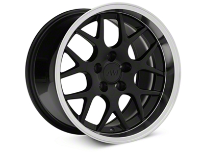 Deep Dish AMR Black Wheel - 17x10.5 (94-04 All)