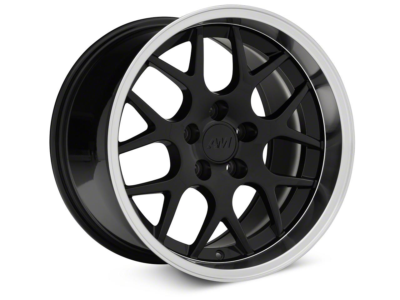 Deep Dish AMR Black Wheel - 17x10.5 (94-04 All)