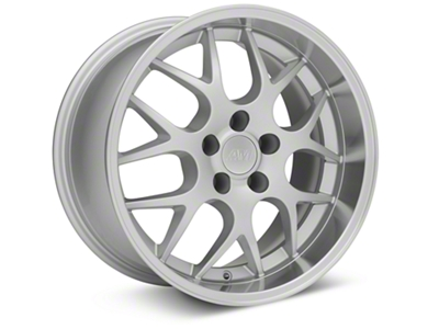 Deep Dish AMR Silver Wheel - 18x10 (94-04 All)