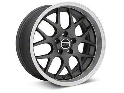 Deep Dish AMR Charcoal Wheel - 18x9 (05-14 All, Excludes 13-14 GT500)