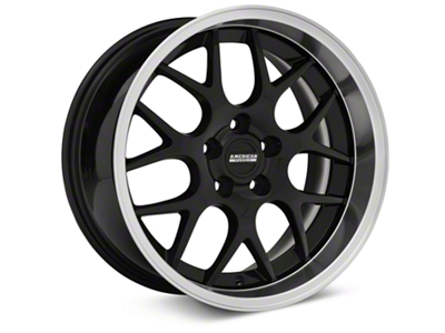 Deep Dish AMR Black Wheel - 18x9 (05-14 GT, V6)