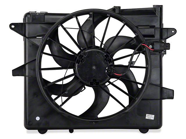 Radiator Fan and Shroud Assembly (05-14 GT, V6; 07-12 GT500)