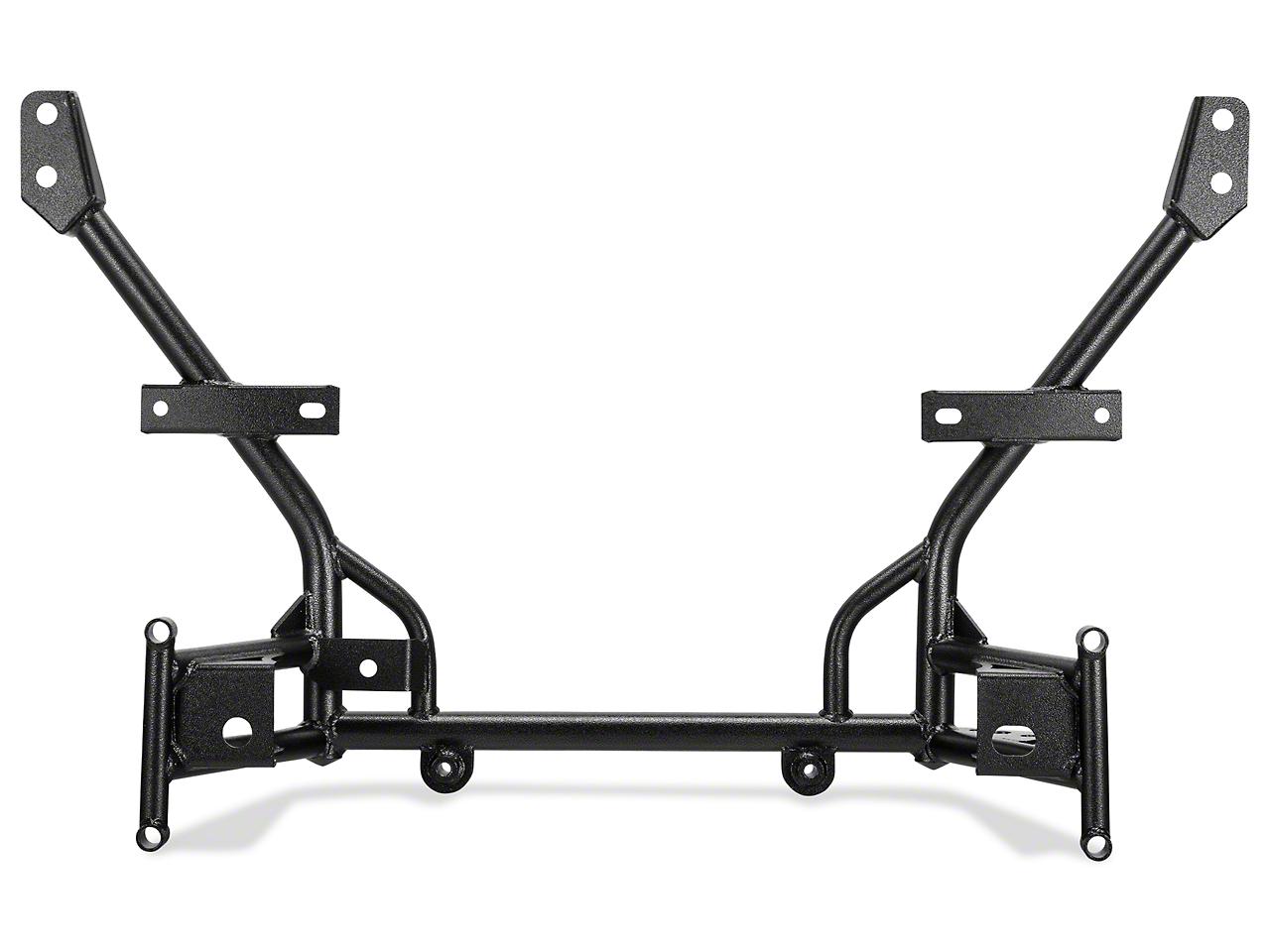 BMR Tubular K-Member - Standard Motor Mounts - Hammertone (11-14 All)