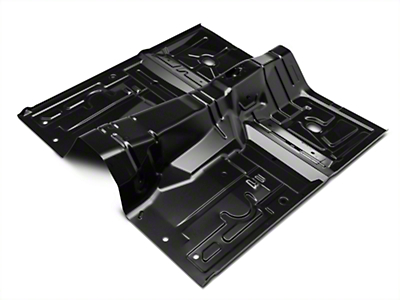 Full One-Piece Floor Pan - Manual Trans (79-93 Coupe/Hatch)