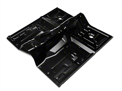 Full One-Piece Floor Pan - Auto Trans (79-93 Coupe/Hatch)
