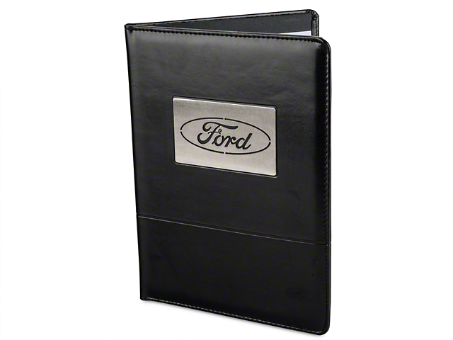Ford Oval Padfolio