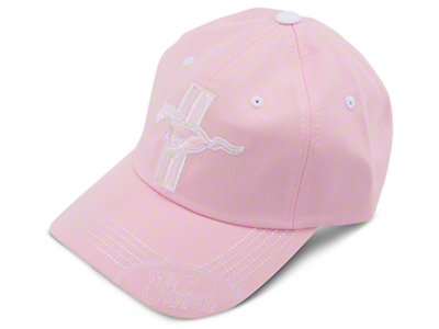 Tri-bar Running Pony Hat - Pink