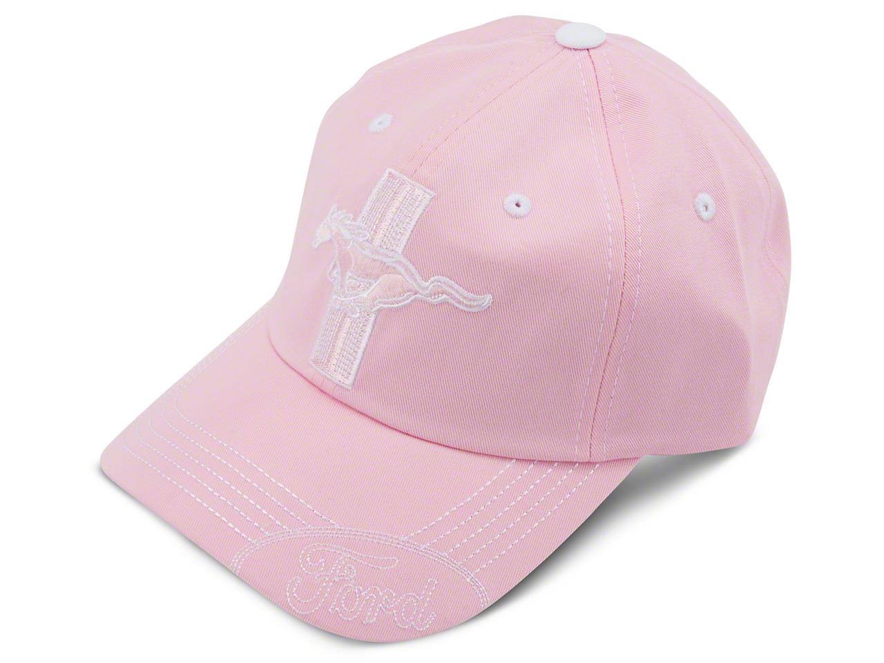 Tri-bar Running Pony Hat - Pink
