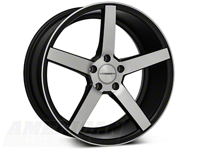 Vossen CV3 Machined Matte Black Wheel - 19x8.5 (05-14 All)