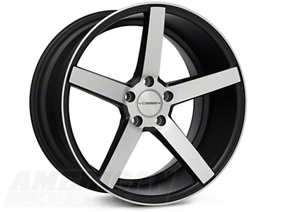 Vossen CV3 Machined Matte Black Wheel - 19x10 (05-14 All)