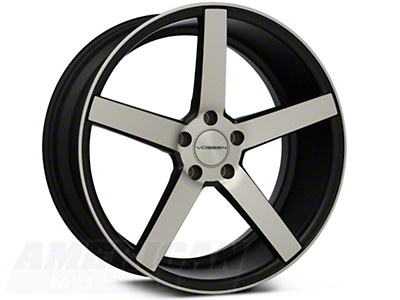 Vossen CV3 Machined Matte Black Wheel - 20x9 (05-14 All)