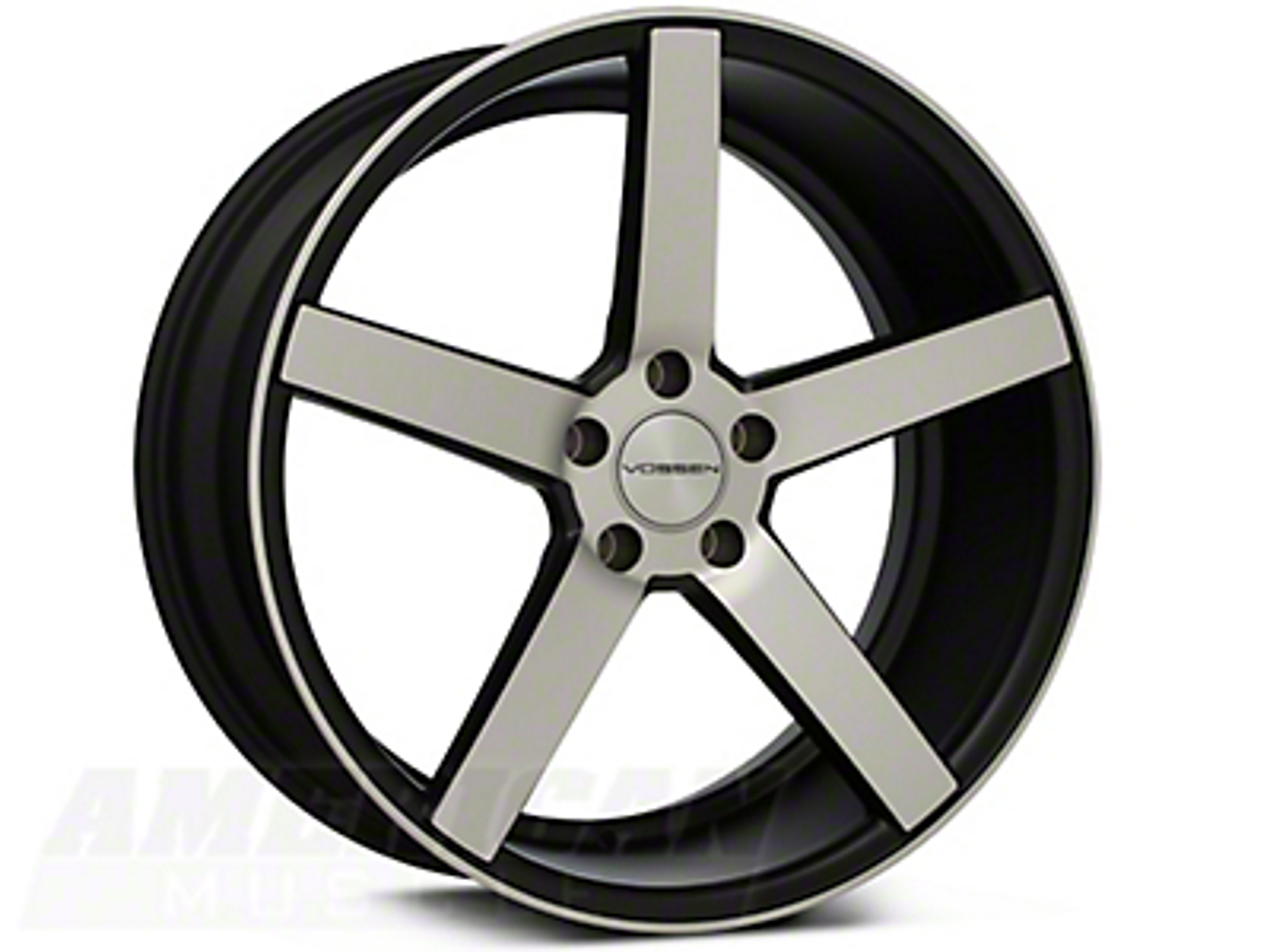 Vossen CV3 Machined Matte Black Wheel - 20x9 (05-14 All)