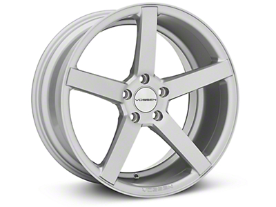 Vossen CV3 Machined Matte Silver Wheel - 19x10 (05-14 All)